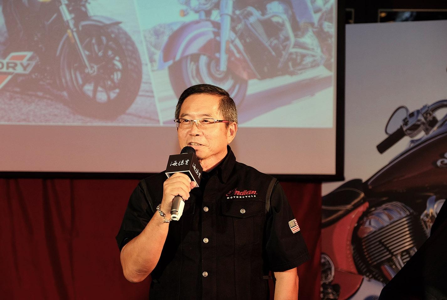 開場便由台灣總代理海德生 董事長 Paul 向大家介紹這兩台全新車款
