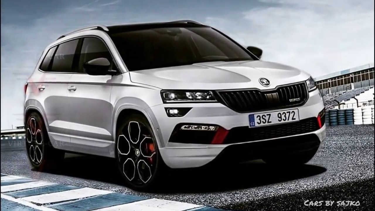 skoda karoq scout sportline supermoto8. Black Bedroom Furniture Sets. Home Design Ideas