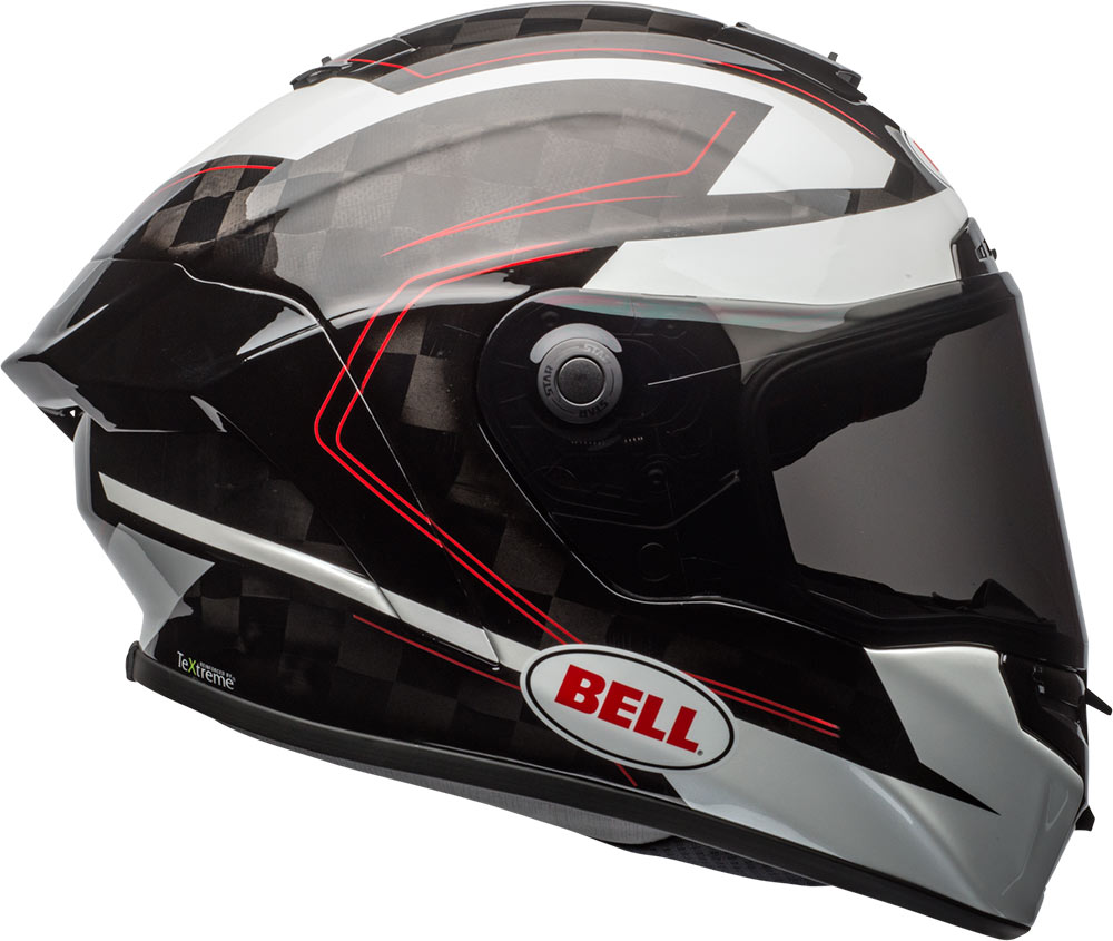 BELL推出的頂級PRO STAR,從材質到規格可完全不輸日系大廠,而且還是一款重量極輕的全罩式安全帽
