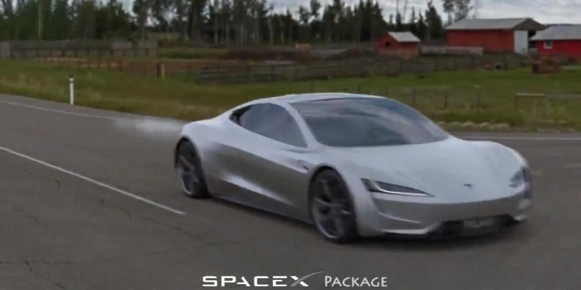 如果Tesla Roadster 0-96km/h的加速只要1.1秒!應該就會是這個樣子!