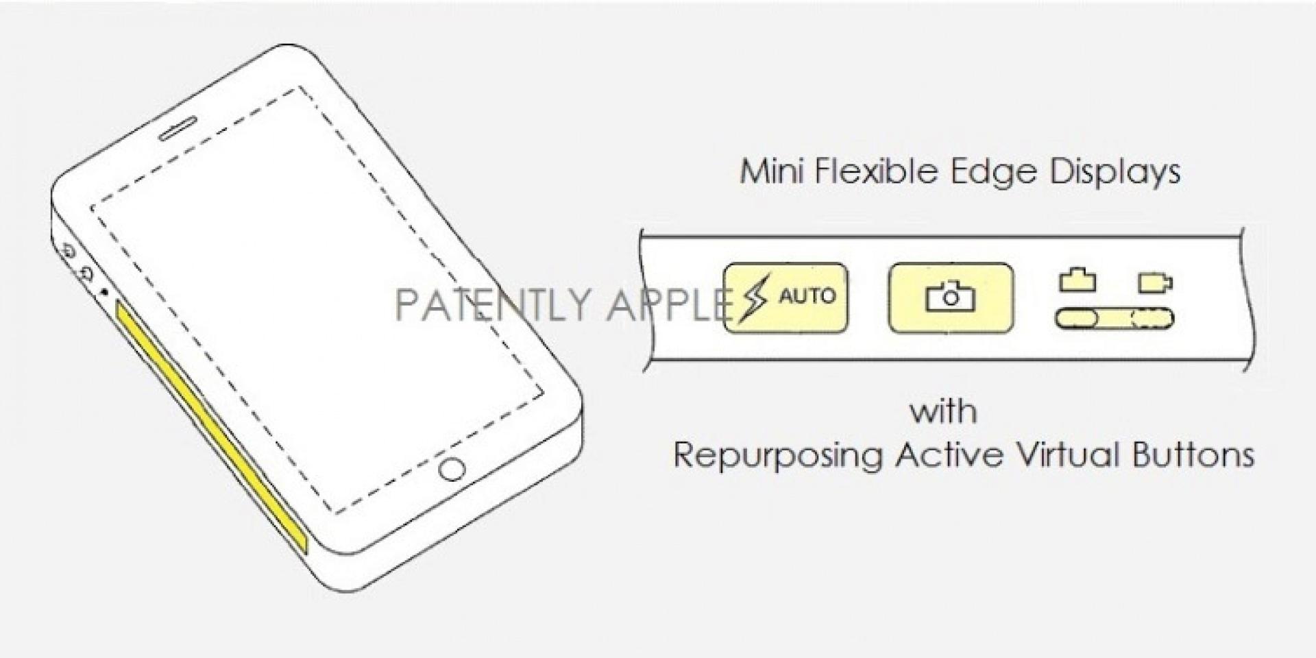 英雄所見略同。Apple遞交側邊觸控按鍵專利。