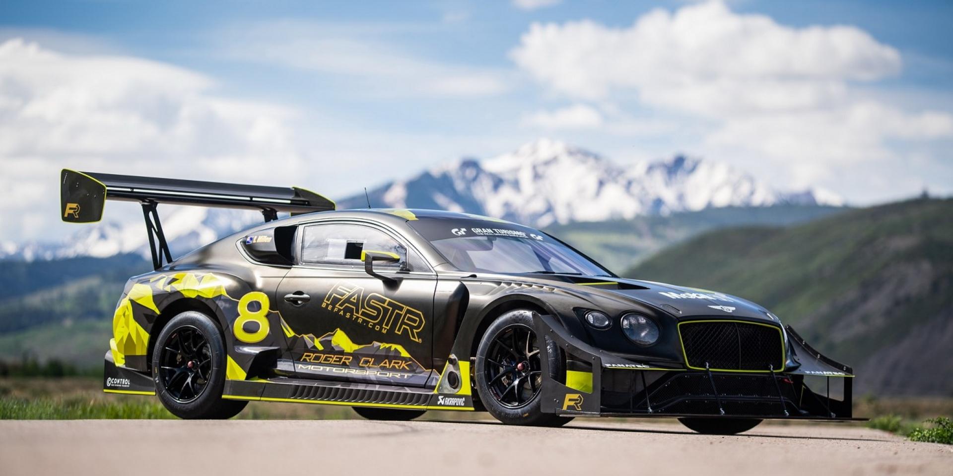Bentley Continental GT3挑戰派克峰爬山賽,有望拿下品牌三冠王