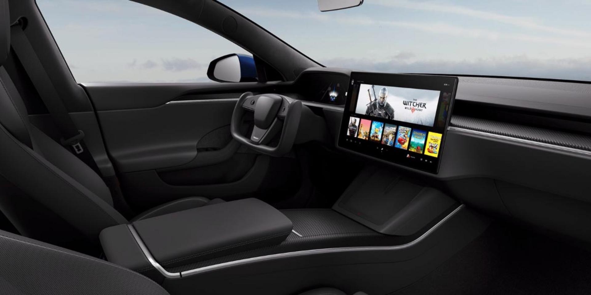 超狂方向盤樣式!Tesla Model S/X小改款發表 299.9萬元起