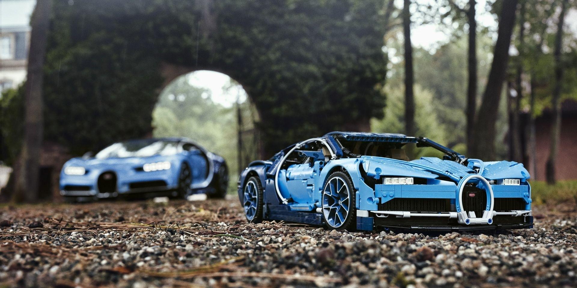 老爸~我要買Bugatti Chiron!LEGO Technic滿足你!