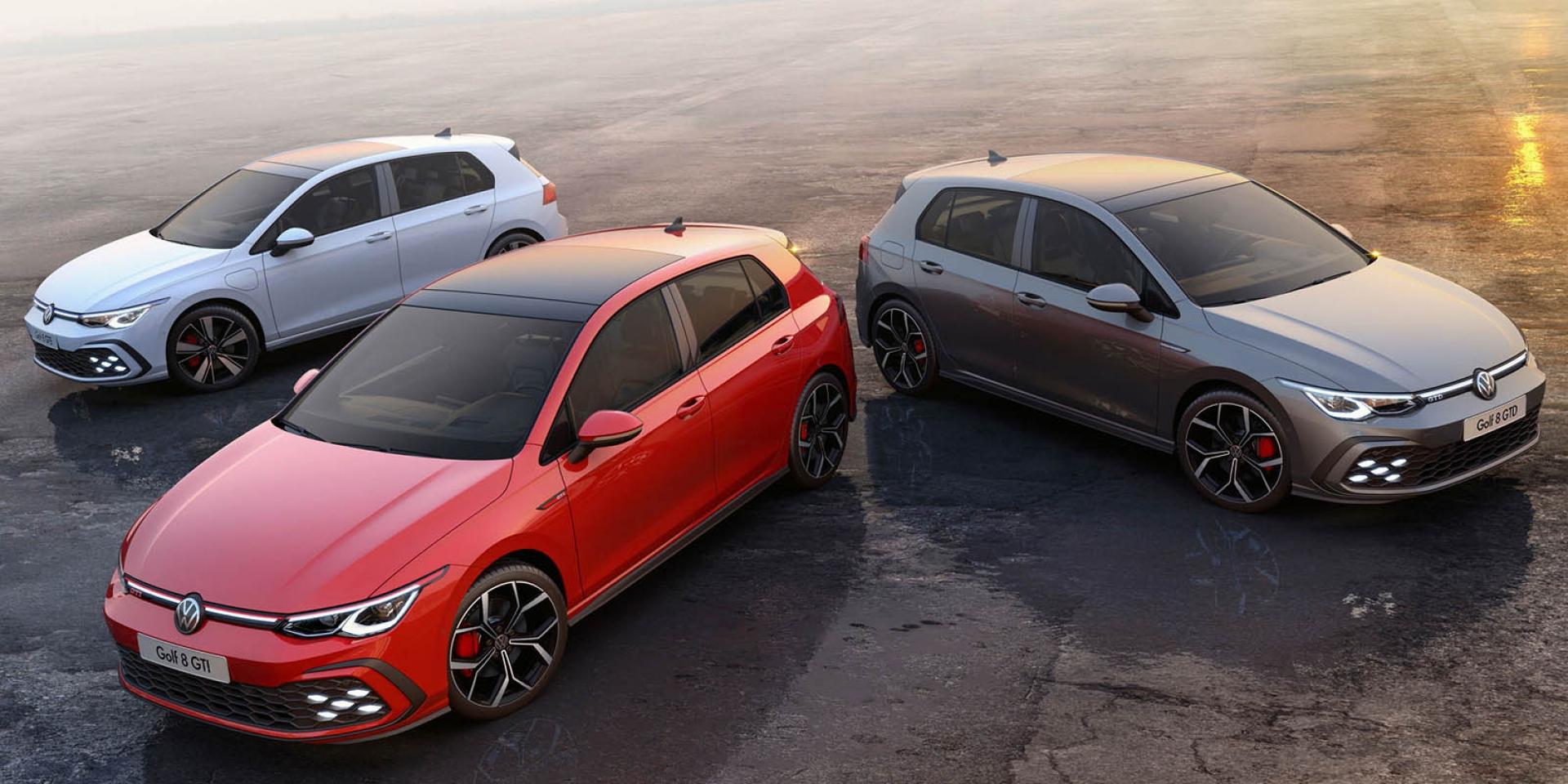 Volkswagen三箭齊發!Golf GTI、GTD、GTE正式發表!