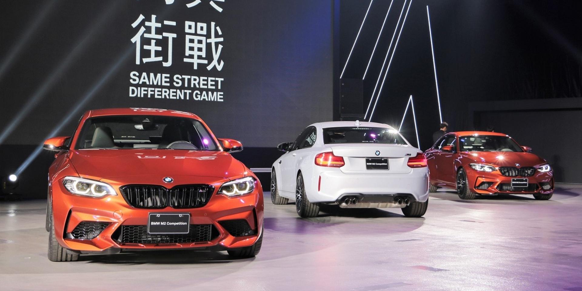 M4心臟植入,BMW M2 Competition號稱最有樂趣的BMW