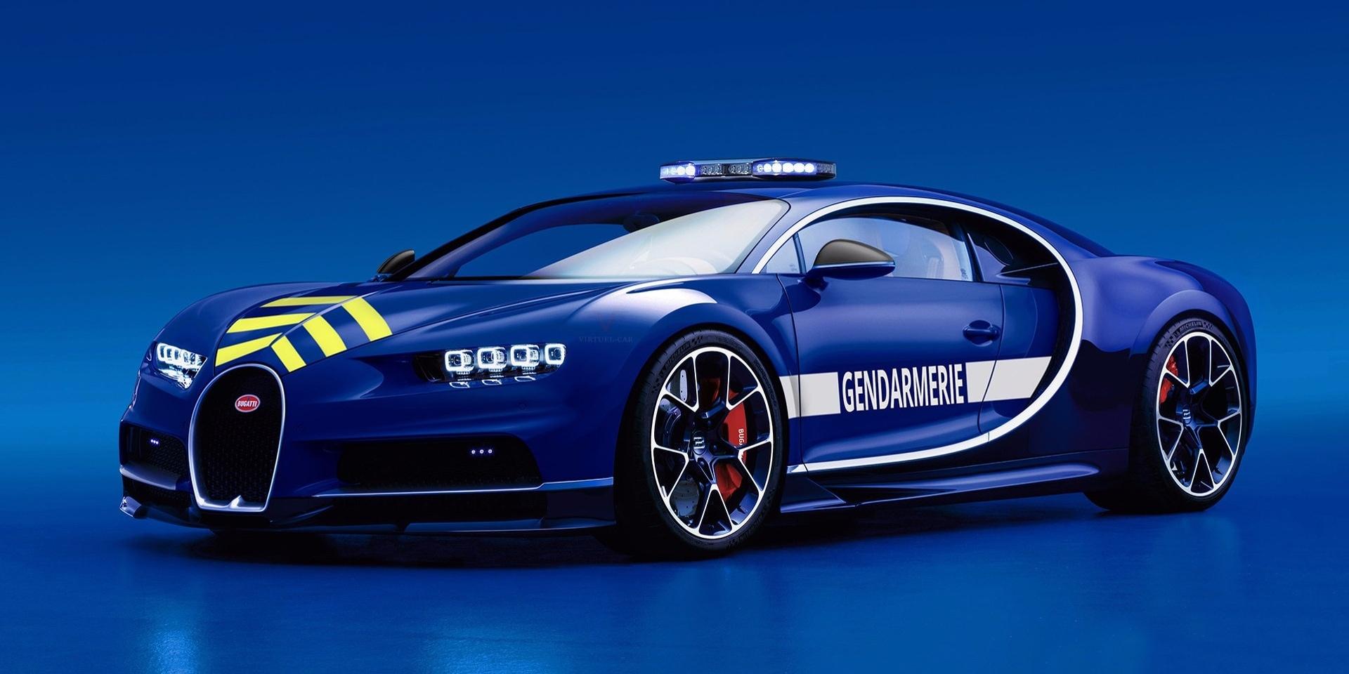 看你可以往哪跑!法國警方擁有Bugatti Chiron執法神獸