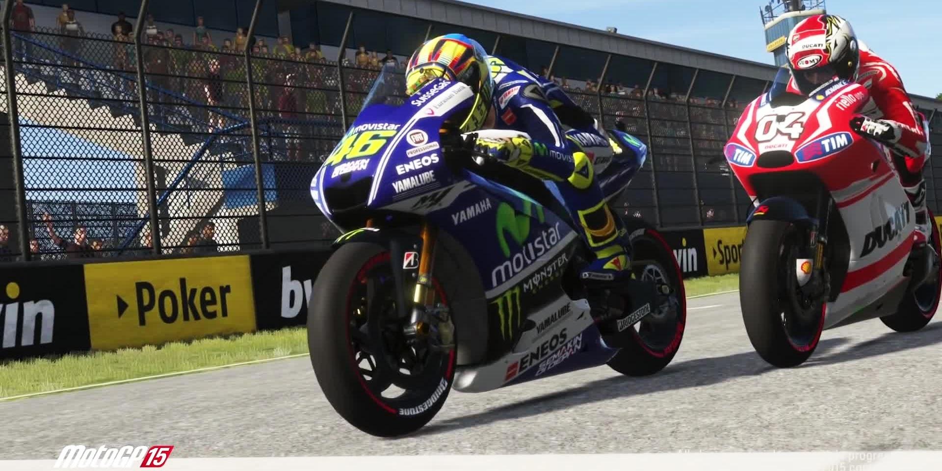 想當Rossi在賽道上與Marquez拼命嗎?