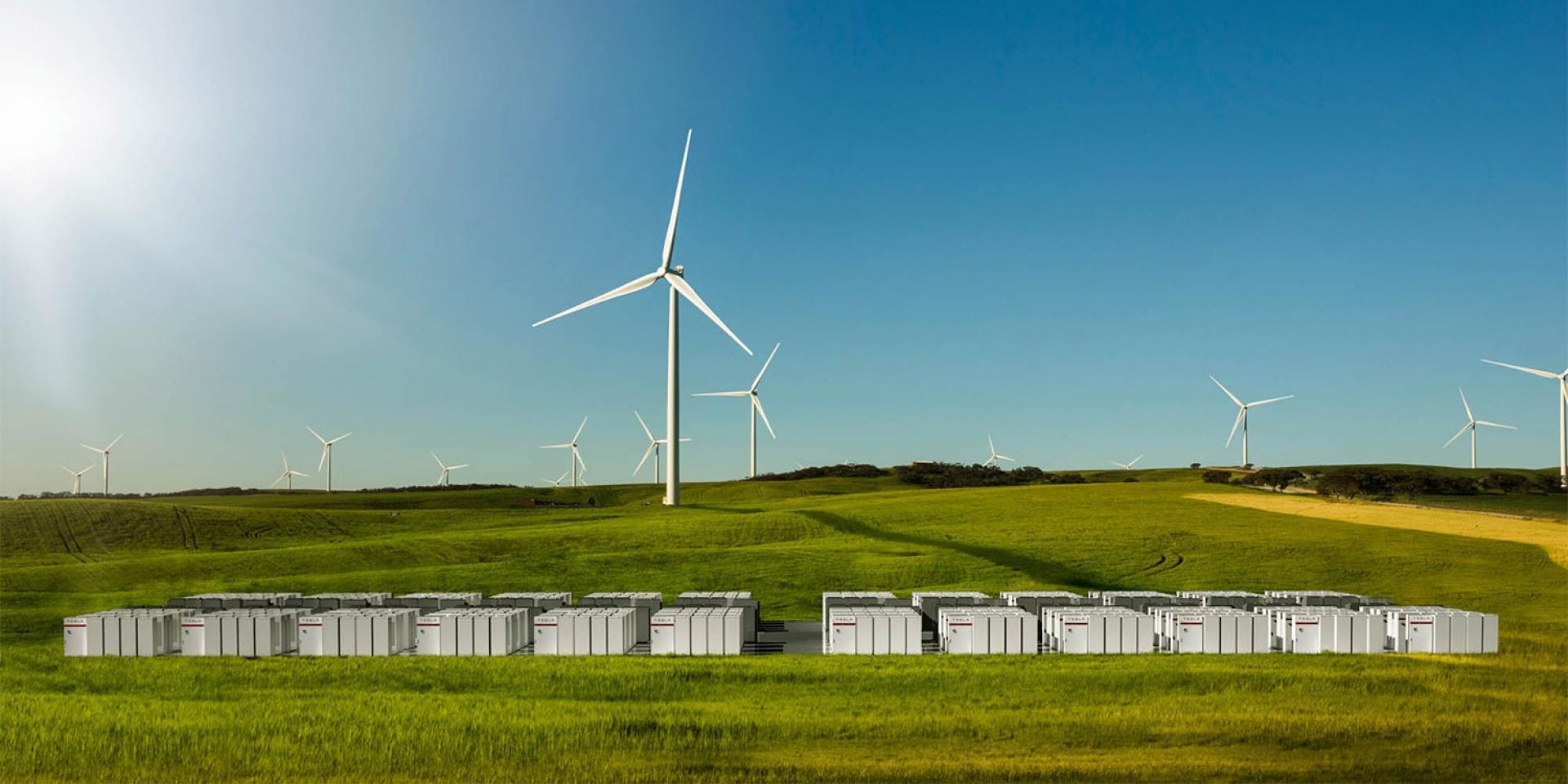 TESLA百日築城,打造全球最大電力儲存廠