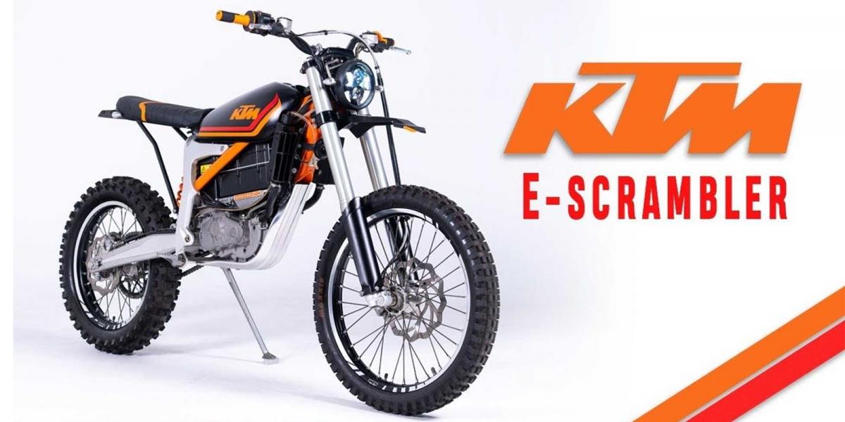 電動老山車!KTM Freeride E-XC E-Scrambler by.Grid Cycles