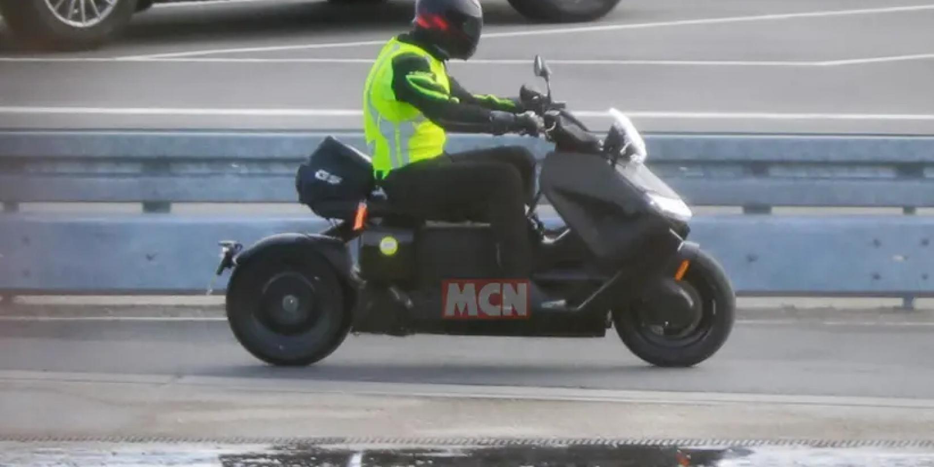 量產版年底發表?BMW CE 04電動速可達測試間諜照曝光!
