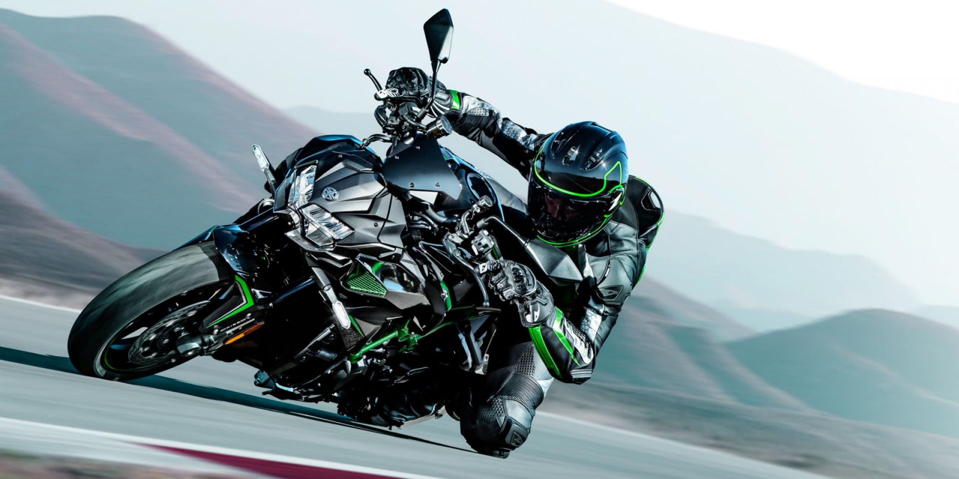 官方新聞稿。Kawasaki Z H2 92.8萬展開預購,Supercharged超級街車 登陸台灣