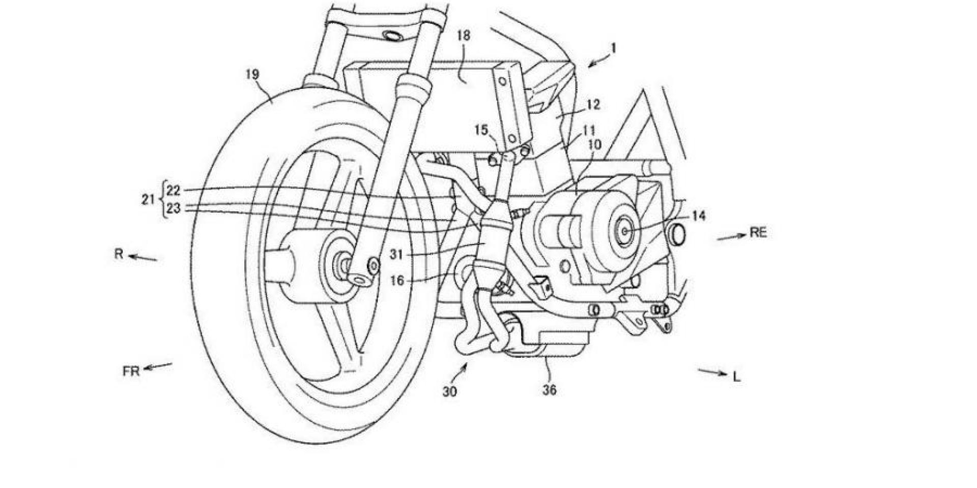 替EURO5做準備!SUZUKI 250c.c.雙缸引擎專利圖曝光