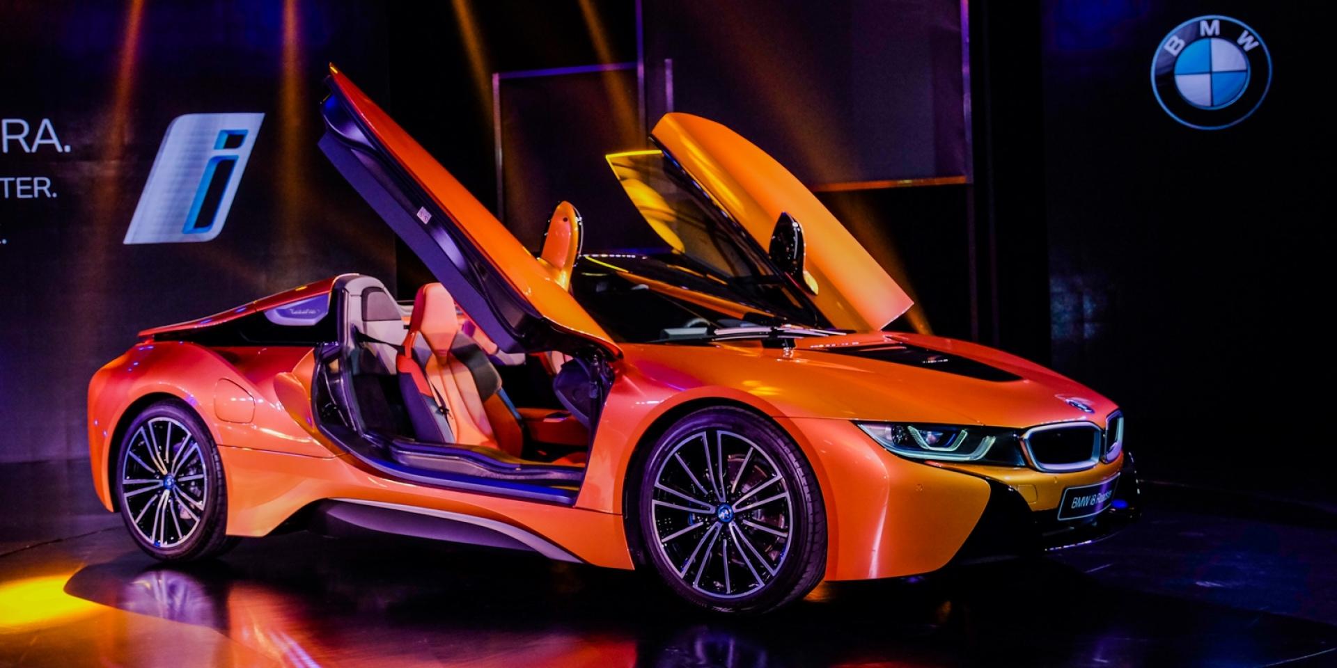 油電跑車新篇章,新一代BMW i8 Coupe/Roadster台灣發表