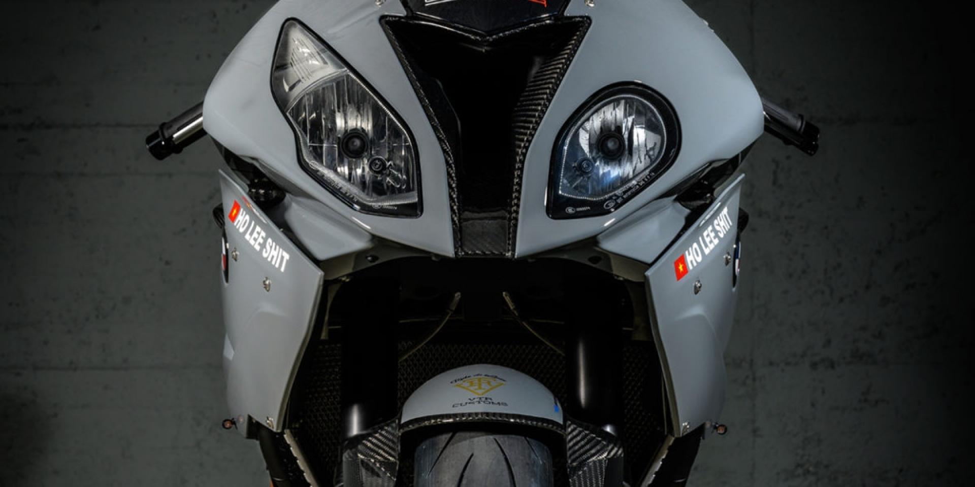 不同的寶馬,相同的戰鬥意志!兩部BMW S1000-Series的戰鬥改 by VTR