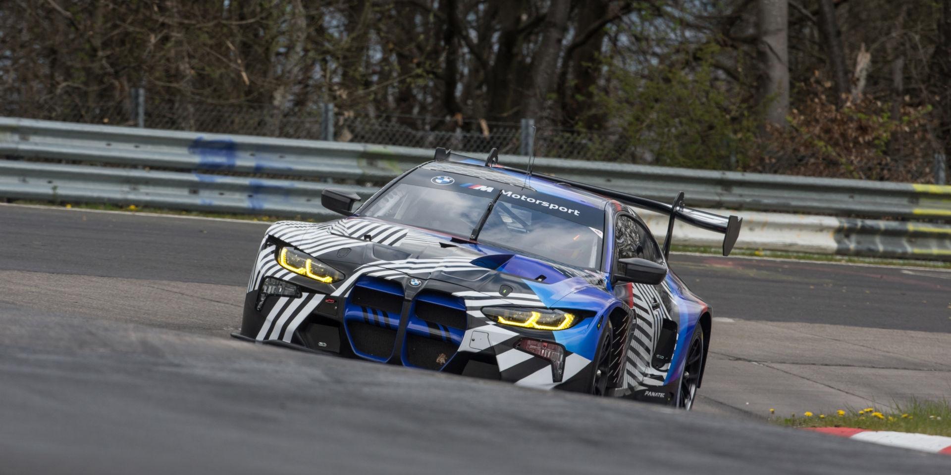 BMW全新賽車M4 GT3將取代M6 GT3,積極進行測試中