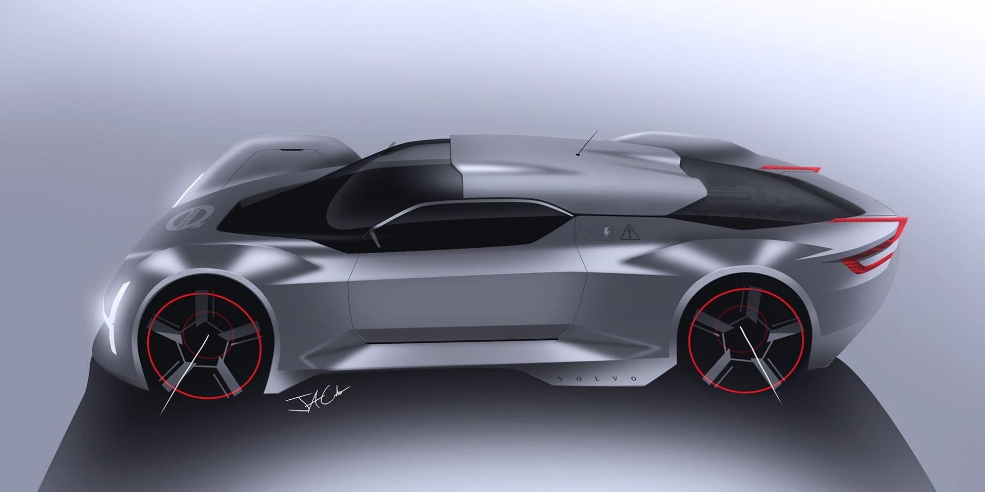 雷神之鎚發威!Volvo打造Hypercar極致超跑?