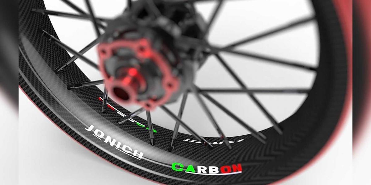鋼絲框加入碳纖維點綴!JoNich 24M9 Carbon碳纖維鋼絲鋁圈