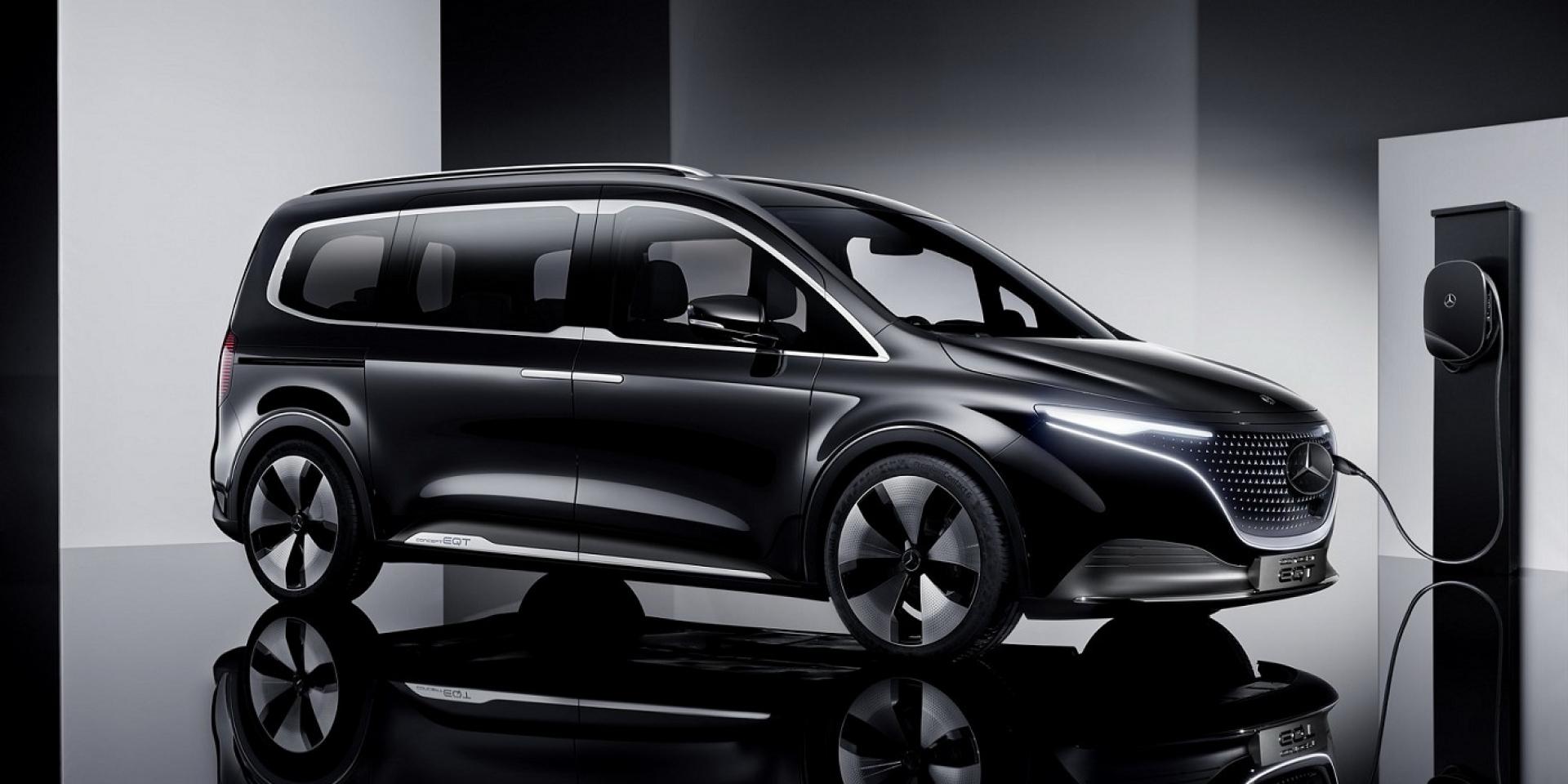 M-Bnez首款電動廂型車EQT,將與T-Class一同現身