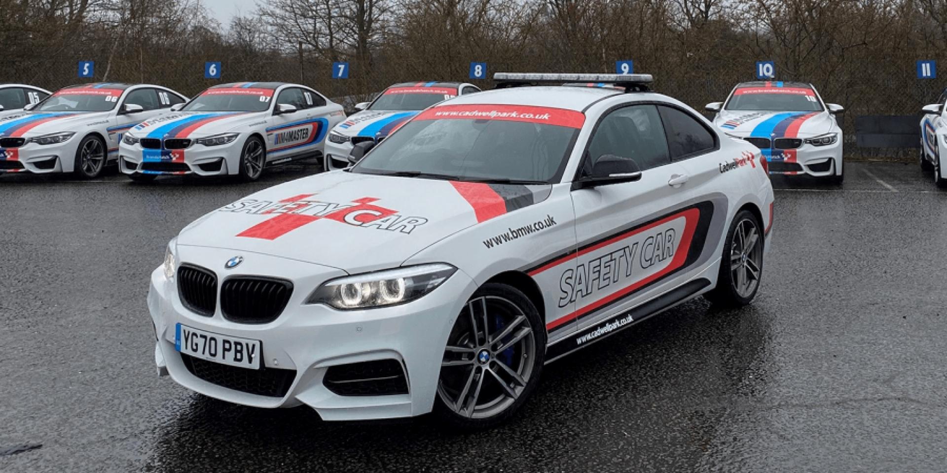 英國BSB賽道遭小偷!BMW M240i安全車、X5醫療車遭竊