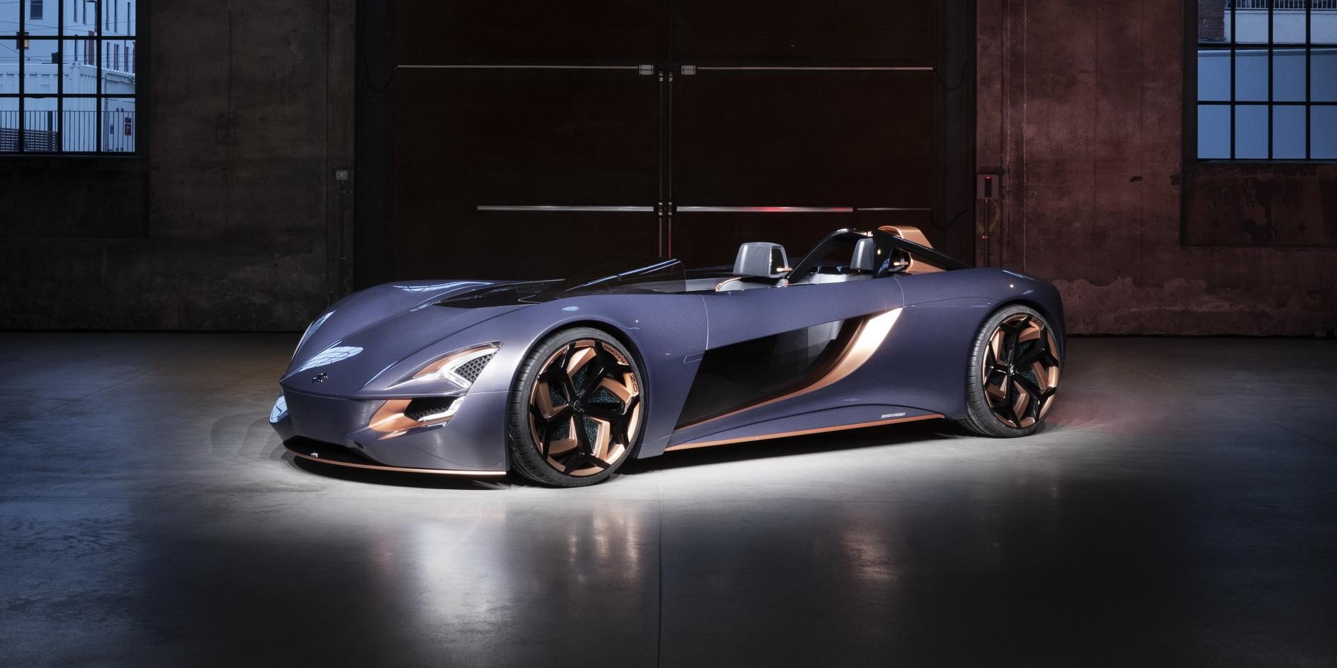 二輪、四輪融合,Suzuki Misano EV Concept電動概念車