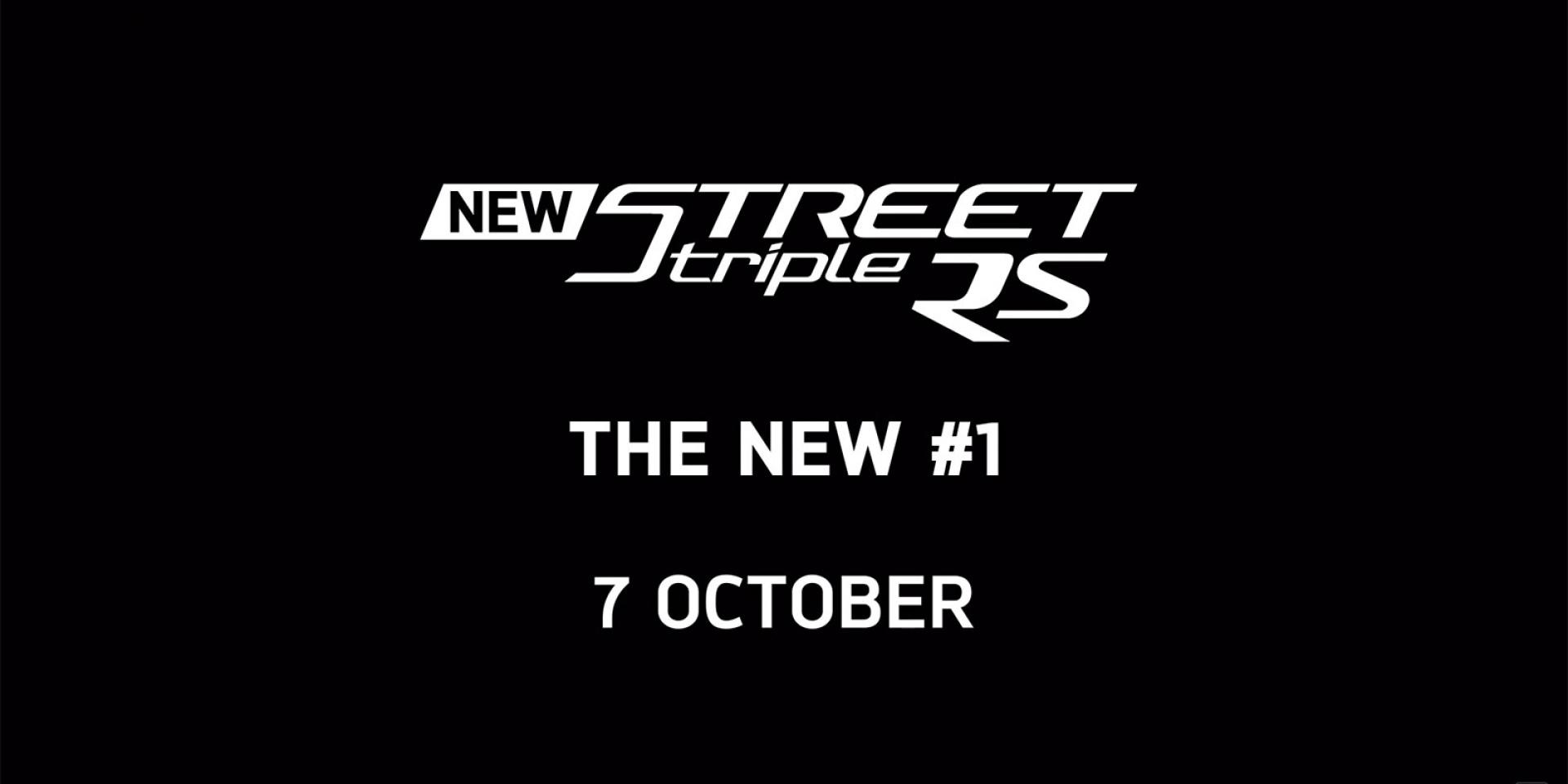 三缸、輕巧、精緻的總和。Triumph Street Triple RS即將在10/7首度亮相
