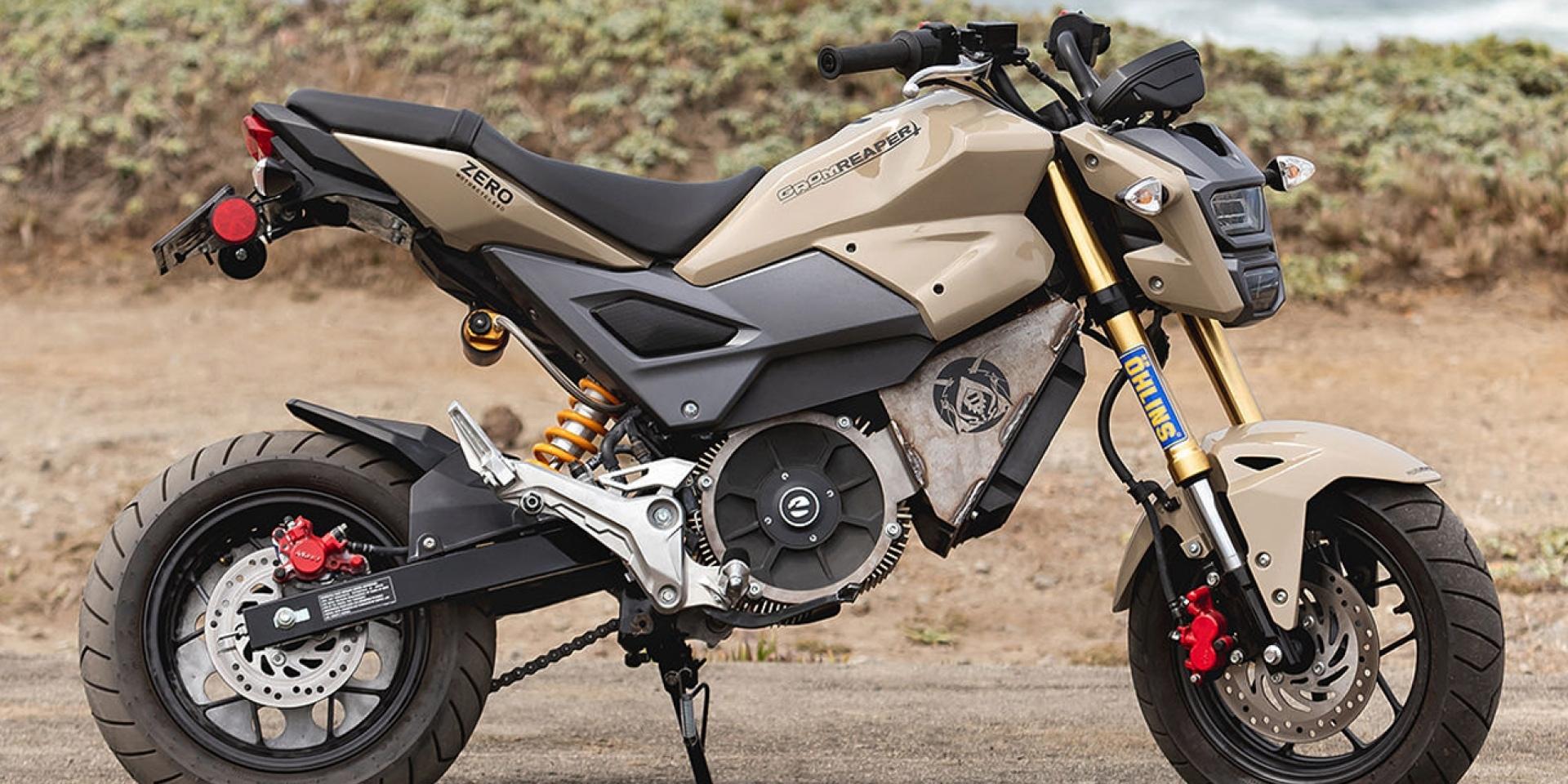 傳承Zero Motorcycles動力系統,HONDA MSX 125變身電動車