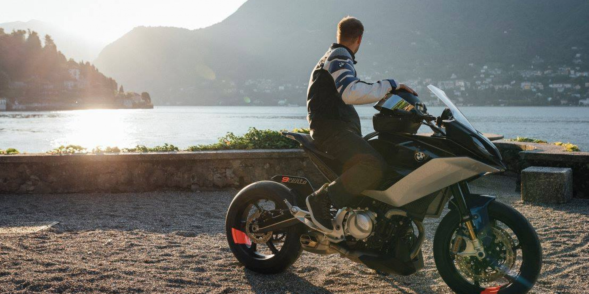 德意志Grand Tourer! BMW Motorrad Concept 9cento