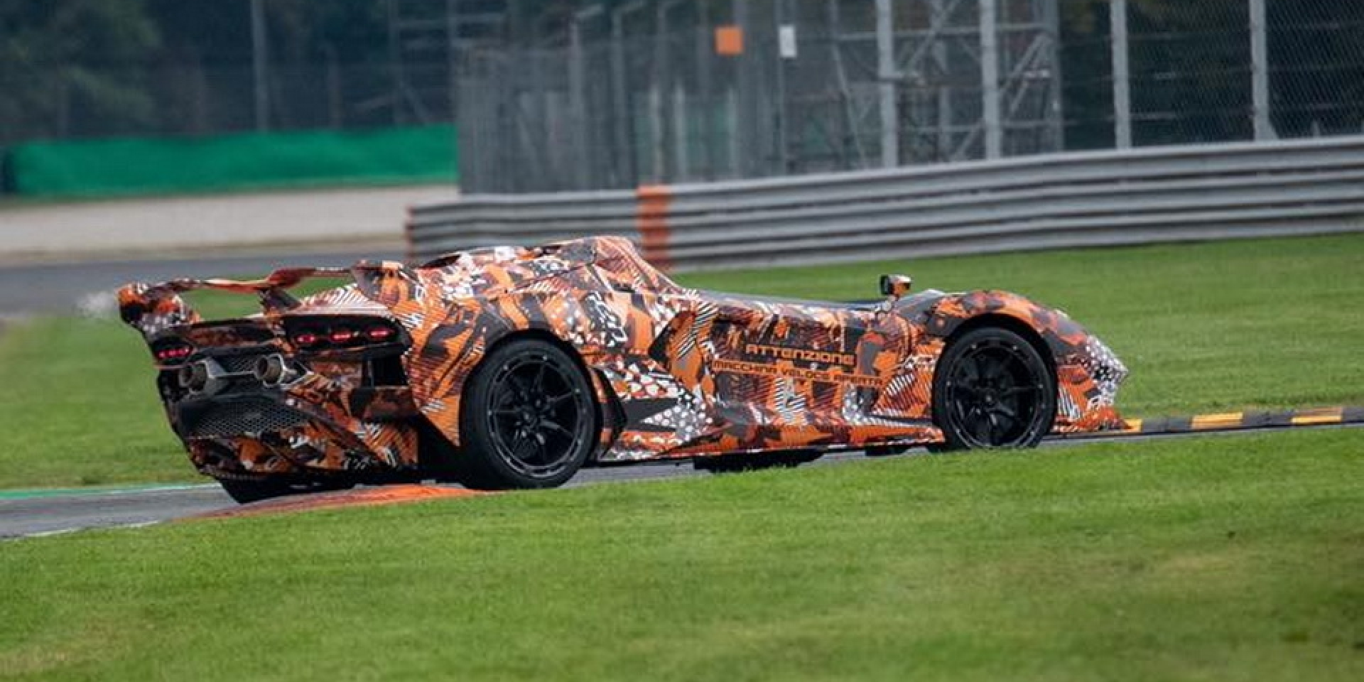 認真還是玩笑?Lamborghini也在打造無車頂超跑?