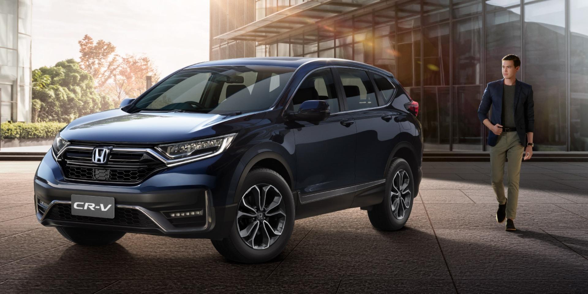 小改款Honda CR-V 96.9萬起開始預購,三等級標配Honda Sensing