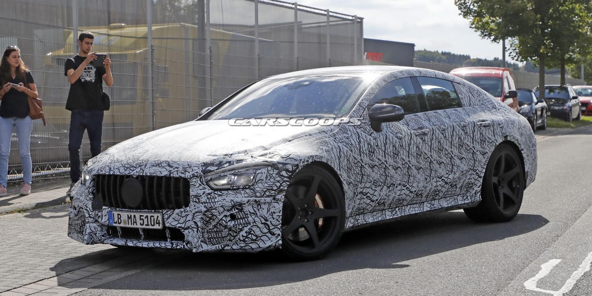 四門超跑爭戰四起,Mercedes-AMG GT4偽裝照捕捉 日內瓦車展亮相