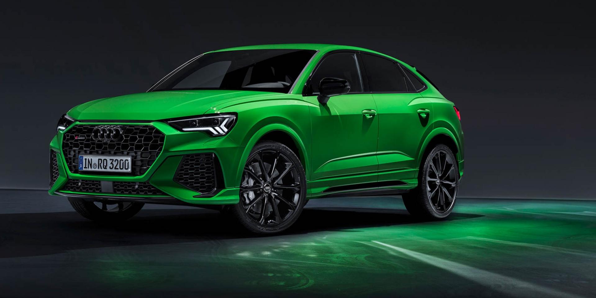 官方新聞稿。四環性能軍團強襲登台 Audi RS / S性能車款開始接單銷售