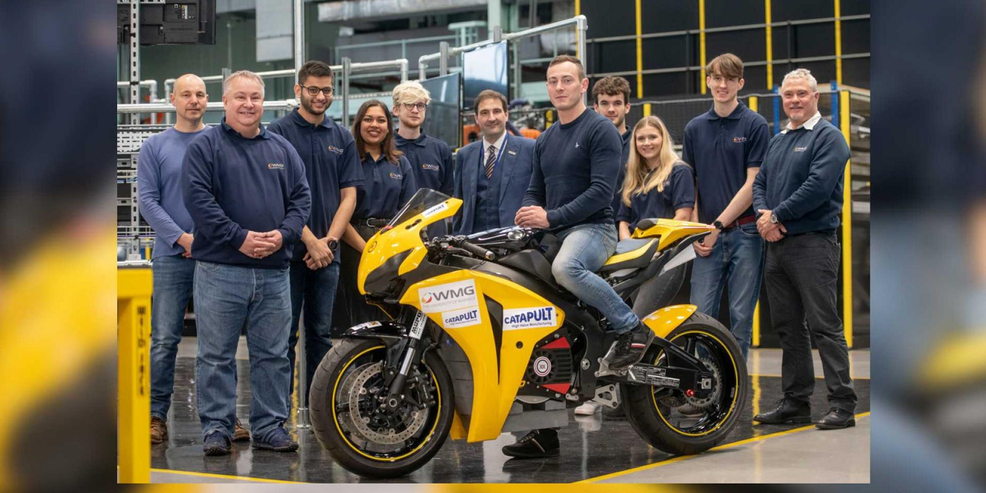 FireBlade電動車!Warwick大學學生成立Warwick Moto,準備進軍曼島TT Zero!
