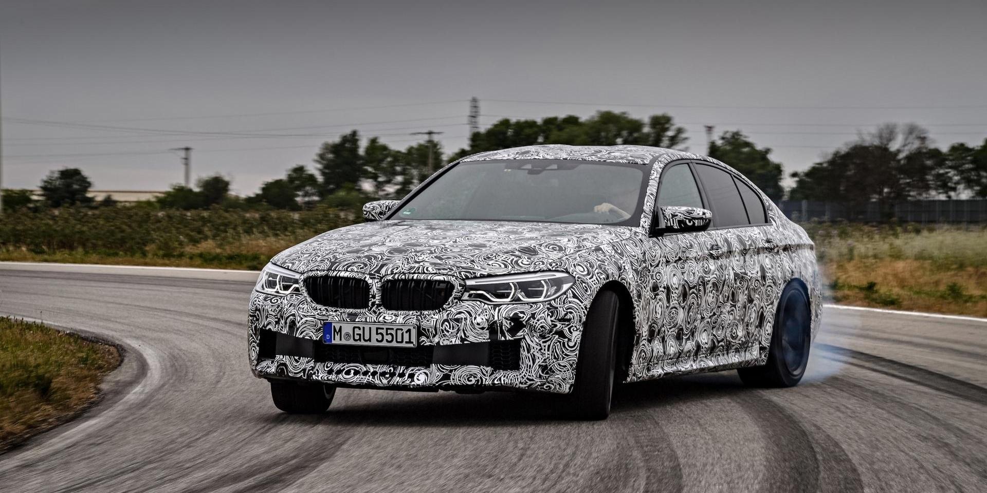眾所期待中型性能房車,2018 BMW M5詳細規格露出