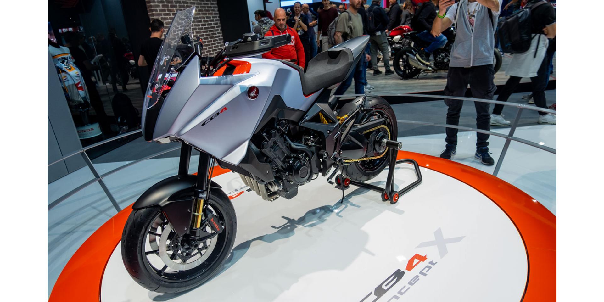 Honda CB4X即將發表?Honda向歐洲專利局申請專利