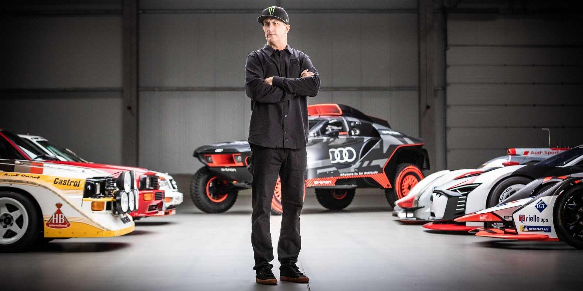飄移神人Ken Block也擁抱電動車!與Audi一同開創電動未來!