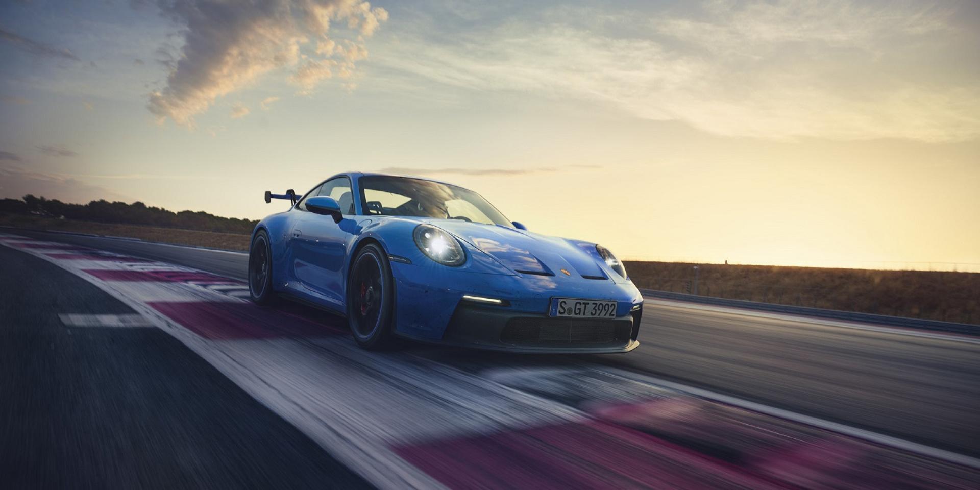 全新911 GT3:純正賽道血統!運動化懸載與高效能空氣動力技術,盡展跑車卓越性能