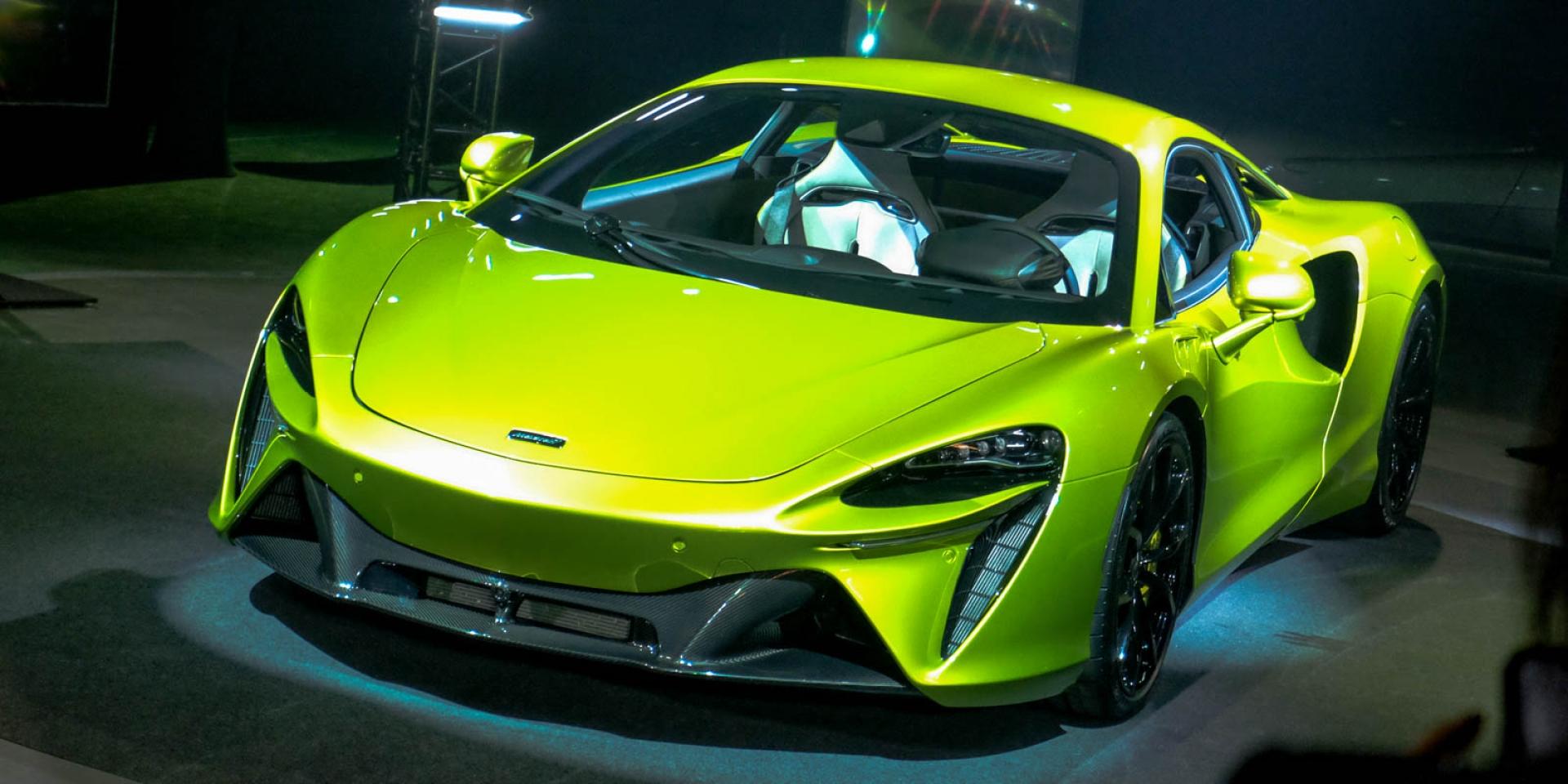 油電超跑神速抵台,McLaren Artura 1,280萬元在台發表!