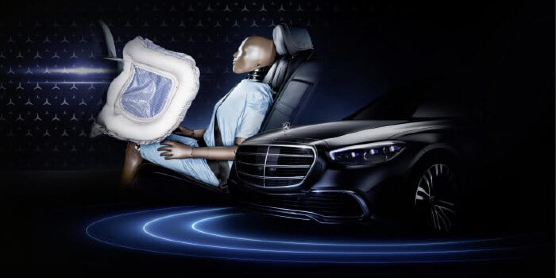 安全再升級!Mercedes-Benz將配置後座正面氣囊!