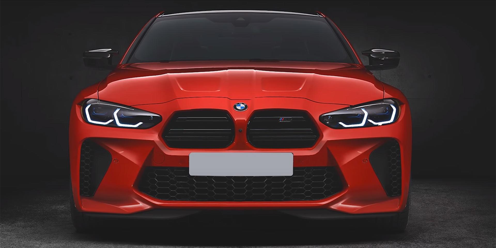 親愛的!我把鼻孔縮小了!BMW M3/M4開啟另類改裝部件!