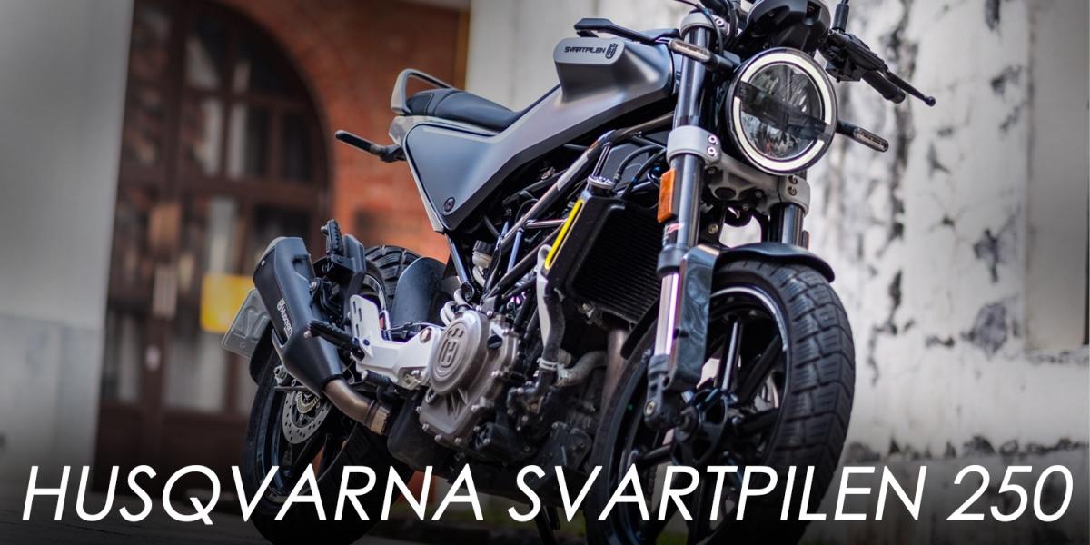 叛逆、狂野、高質感的白牌輕檔。Husqvarna Svartpilen 250
