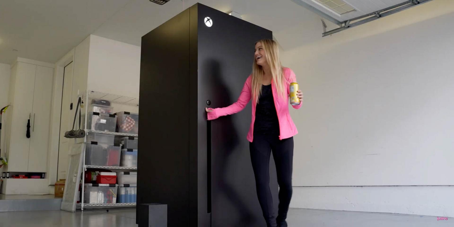 """我買的是冰箱,沒買遊戲機!Xbox Series X正版""""冰箱"""",為新主機上市暖身"""