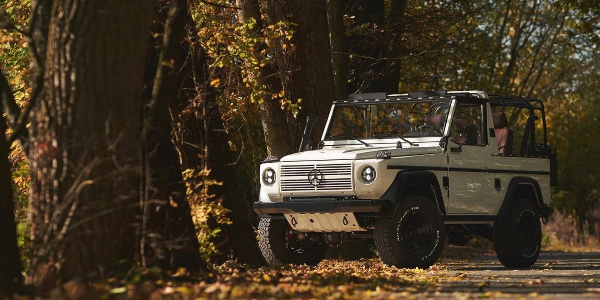 1991年軍用M-Benz G-Class大翻新,經典完美呈現