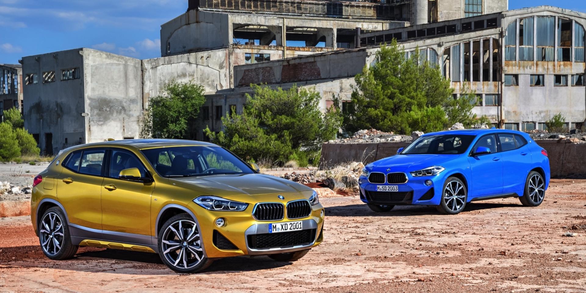 豪華跨界勢力來襲,BMW X2閃耀登場