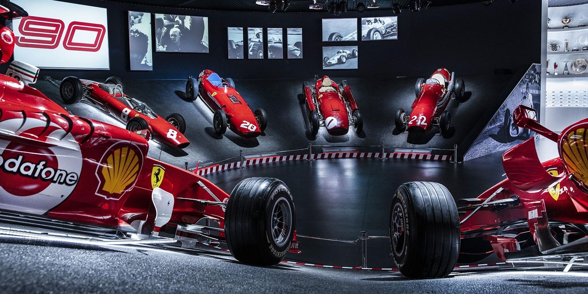 慶祝90年賽事歷史!Ferrari展出眾多經典車款!
