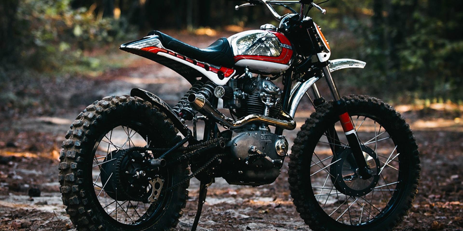走過半世紀的不朽傳奇。Ducati 250 Scrambler Super Duc