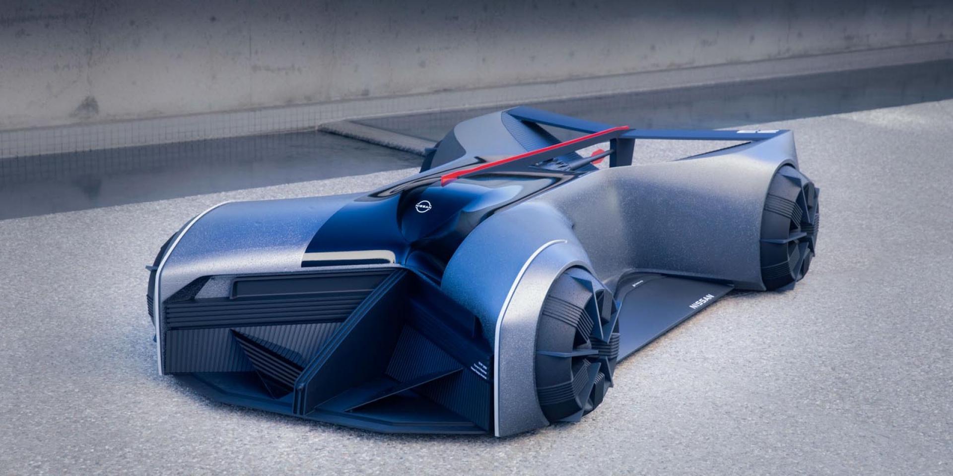 """把GT-R穿在身上,未來概念GT-R(X)2050 竟然是""""趴著開""""!"""