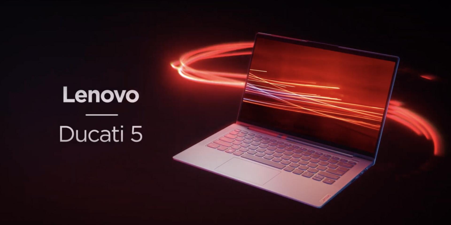 義式賽車魂注入!Lenovo「DUCATI 5」聯名限量筆電,CES展發表亮相!