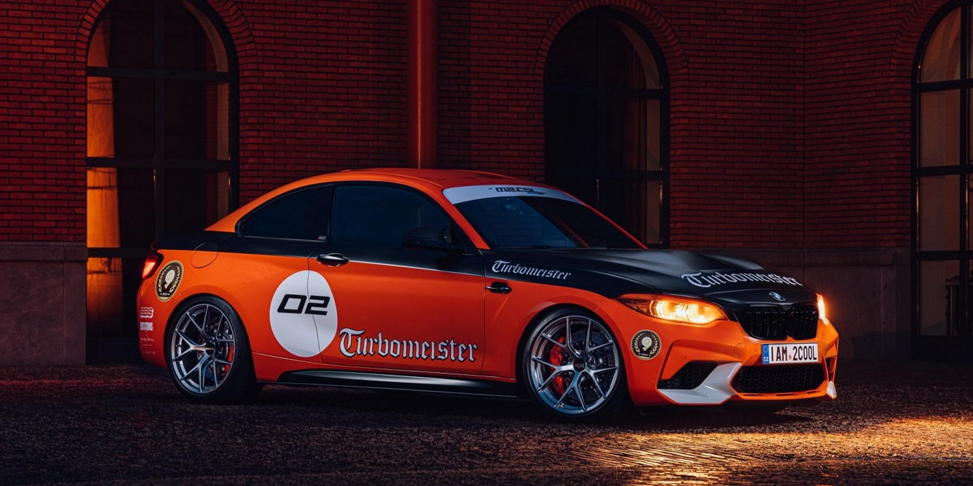 非官方BMW M2 CSL,看到台灣煞車品牌蹤跡