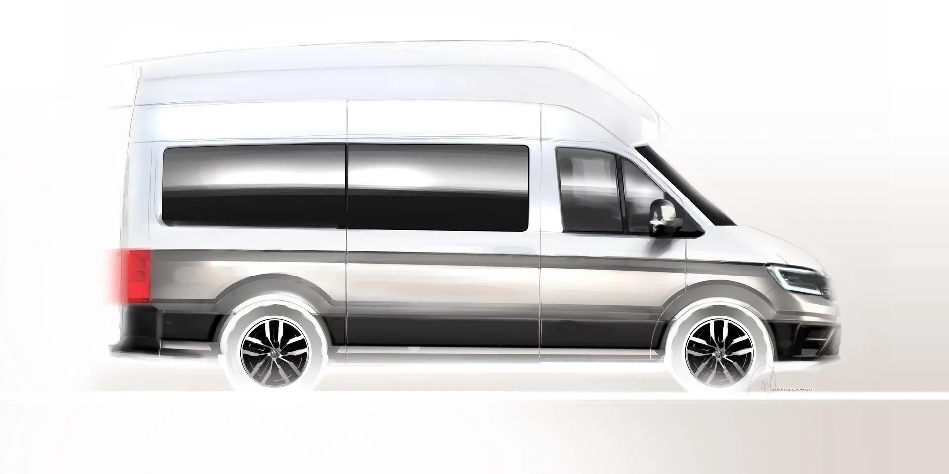 顛覆你對廂型車的想像,Volkswagen全新Crafter露營車竟然還有廁所